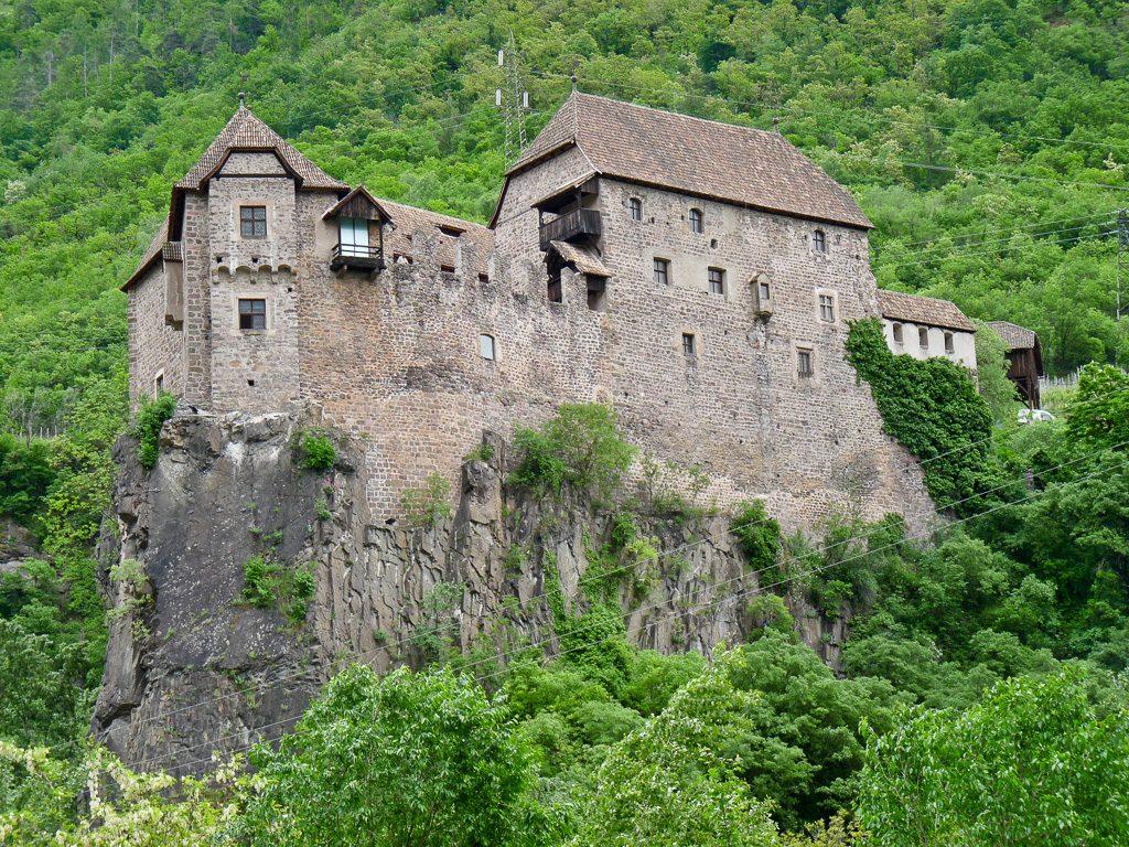 Schloss Runkelstein bei Bozen im Südtirol