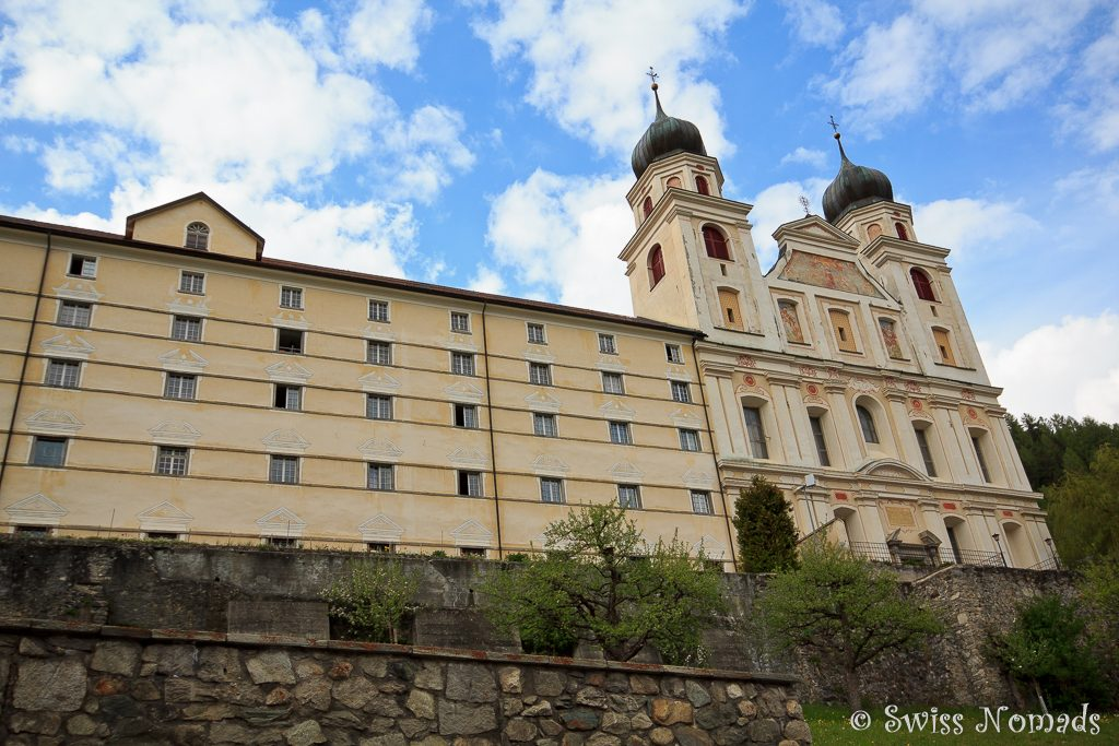 Das Kloster Disentis/Mustér in der Surselva