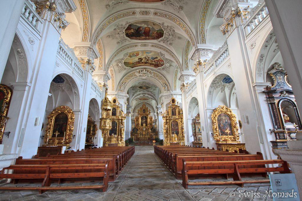 In der Kirche des Klosters DIsentis/Mustér
