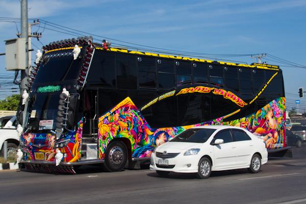 Bus Ayutthaya Sukhothai