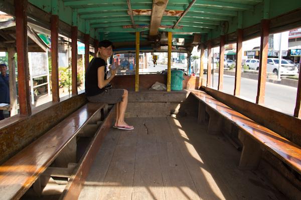 Bus in Sukhothai