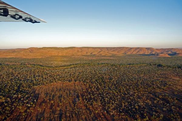 Rundflug in Australien