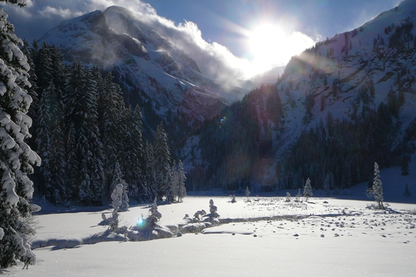 Lauenensee in Gstaad