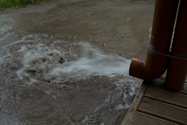 Monsunwechsel auf den Malediven