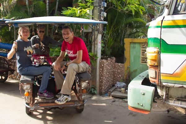 Motorrad Taxi in Sukhothai