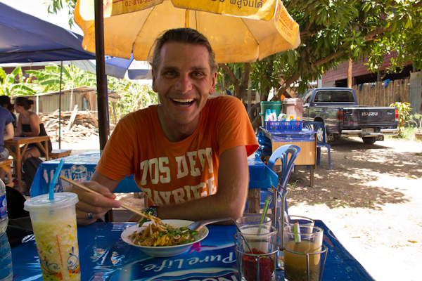 Mittagessen in Sukhothai