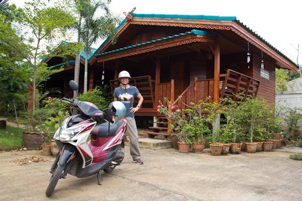 Roller in Sukhothai