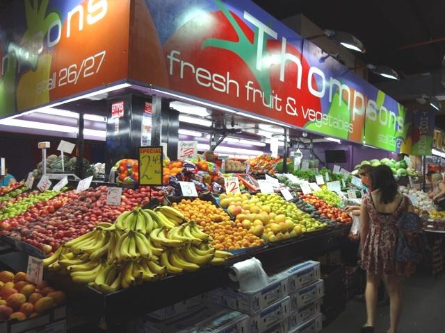 Früchte Stand