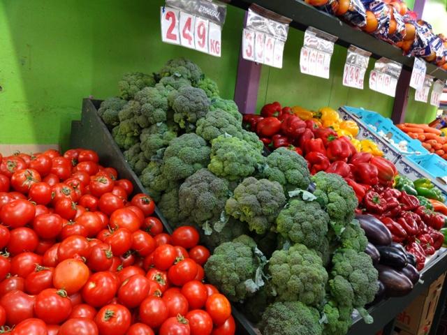 Gemüse Stand