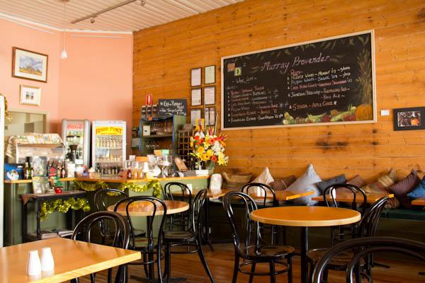 Gemütliches Café in der Stadt Echuca