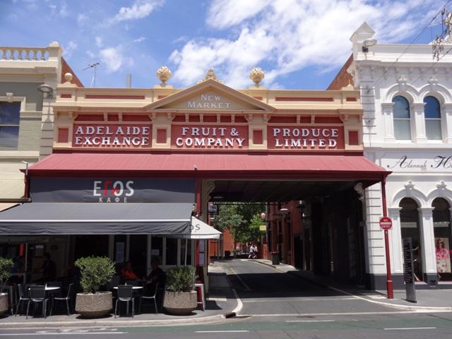 Stadtrundgang in Adelaide
