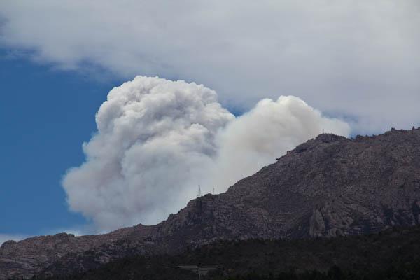 Buschfeuer in Tasmanien