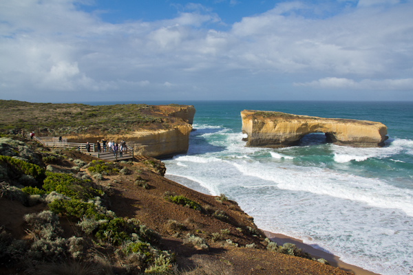Die London Bridge an der Great Ocean Road