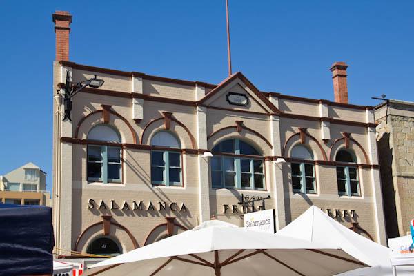 Bis bald am Salamaca Markt in Hobart, Tasmanien