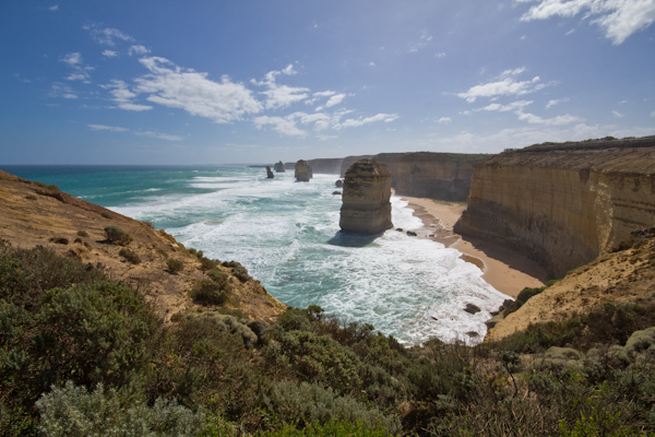 Die 12 Apostels, die Hauptattraktion an der Great Ocean Road
