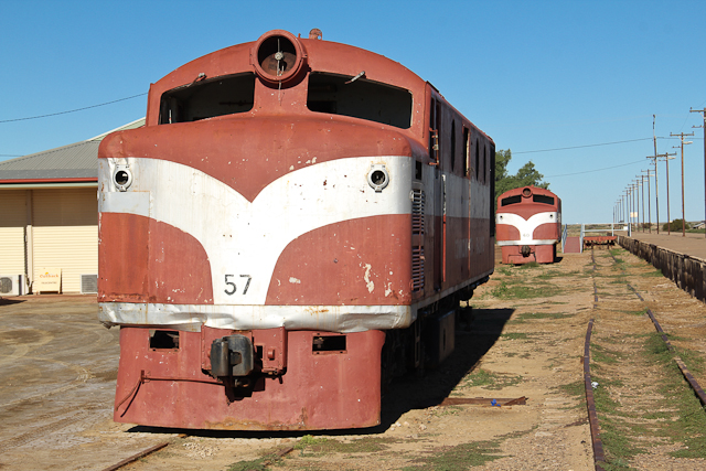 Marree Lokomotive Old Ghan Railway