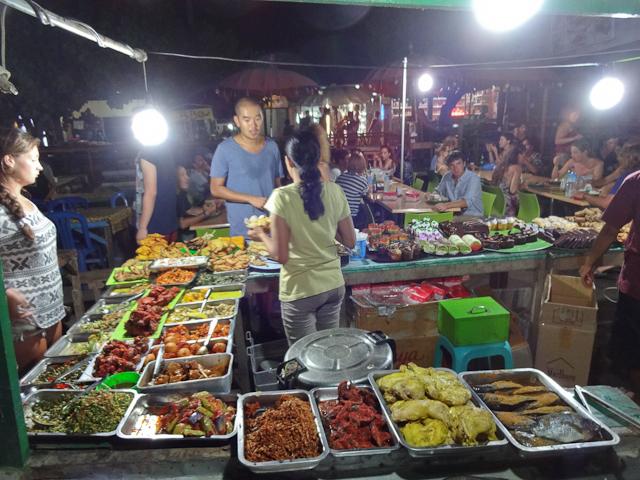 Nachtmarkt Gili Trawangan