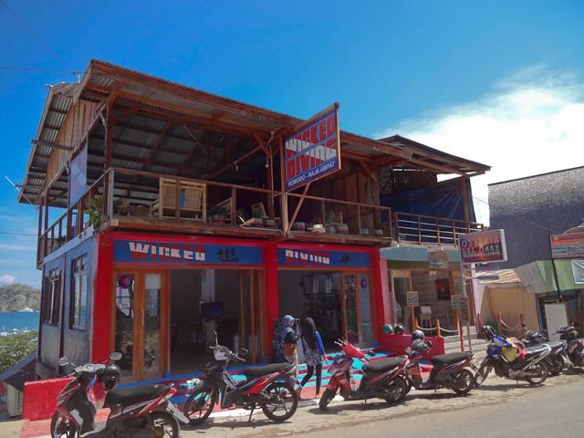 Die Tauchschule von Wicked Diving in Labuan Bajo