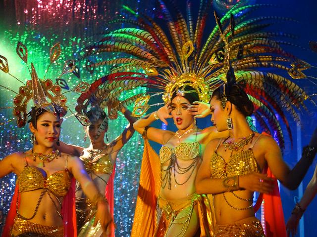 Ladyboy Cabaret Show Chiang Mai