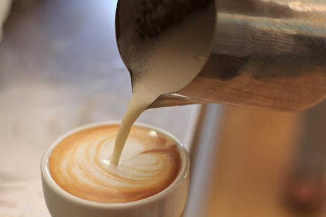 Cappuccino im Barista Kurs in Fremantle