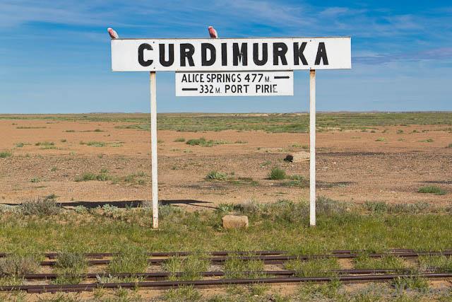 Die Banhstation bei Curdimurka liegt mitten im Outback von Australien