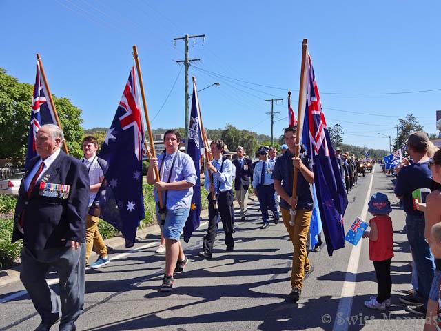 ANZAC Day in Esk