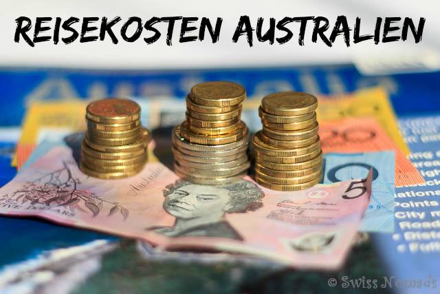 Die Reisekosten Australien für ein Jahr?