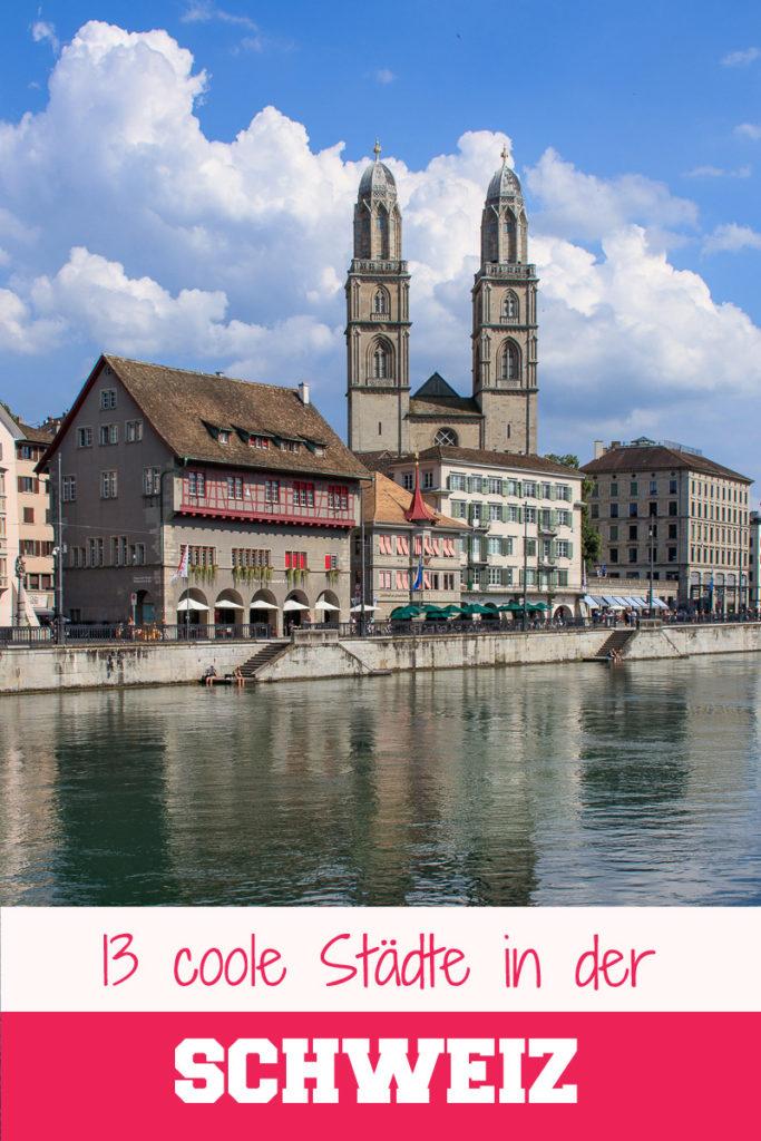 13 schöne Städte in der Schweiz