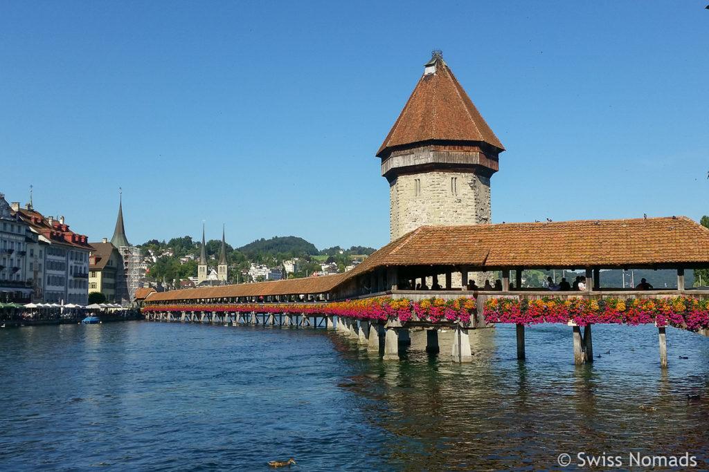 Schweizer Staedte Luzern