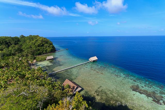 Pulau Pef in Raja Ampat