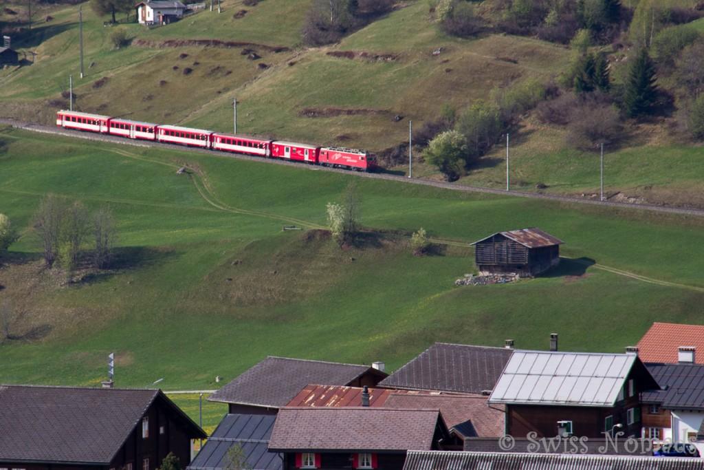 Die Grand Train Tour of Switzerland ist ein Routenvorschlag, der die schönsten Bahnstrecken und Ausflugsziele der Schweiz verbindet.