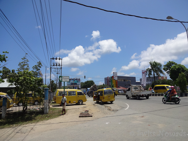 Auf dem Weg zu unserem Büro in Sorong