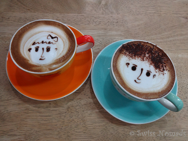 Cappuccino Paar