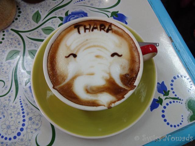 Cappuccino Elefant