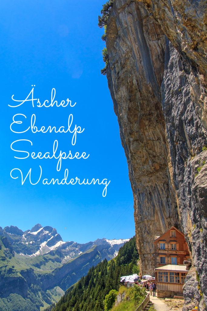 Wanderung Ebenalp Seealpsee Äscher in Appenzell