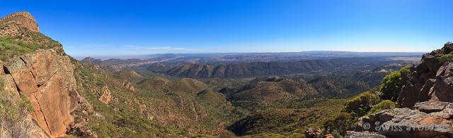 Die Aussicht vom Mary's Peak auf die Flinders Ranges ist jede Anstrengung wert