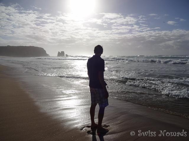 Kilometerlange Sandstrände, davon hat es in Australien gaaaanz viele
