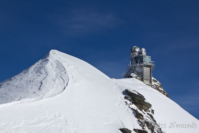 Aussicht auf dem Jungfraujoch