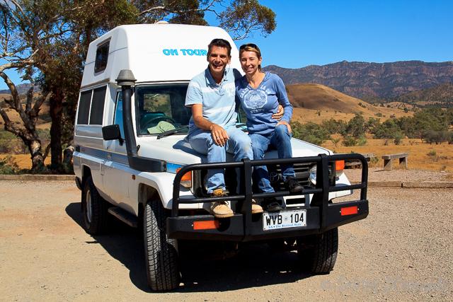 Unser Toyota Landcruiser Camper