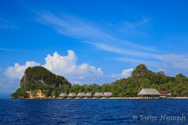 Pulau Pef in Westpapua, Indonesien
