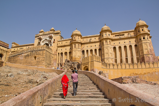 Amber Fort in Rajasthan, Indien