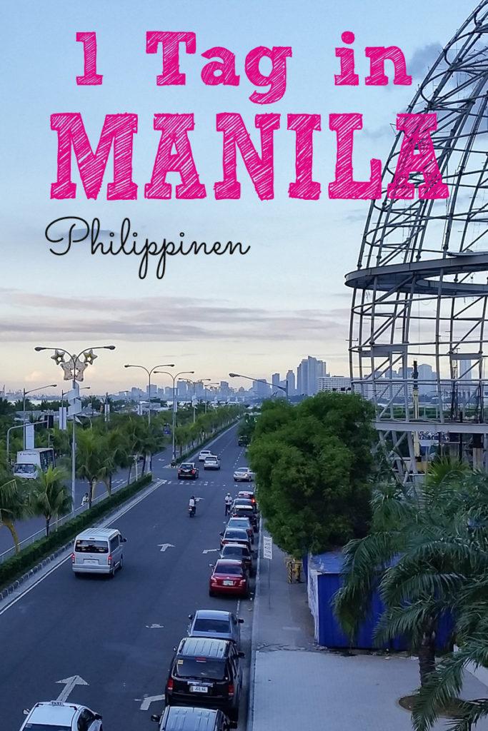 Ein Tag in Manila Philippinen