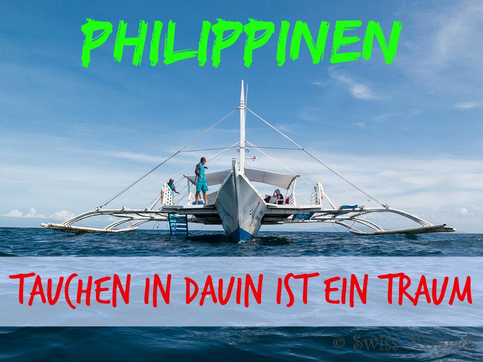 Das Tauchen in Dauin auf den Philippinen hat uns begeistert