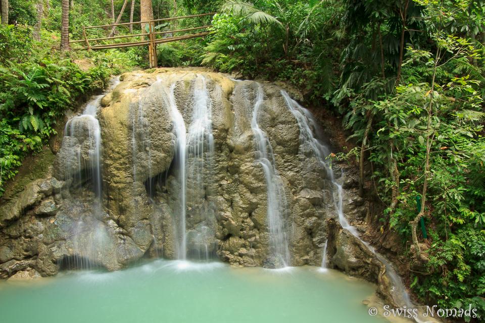 Lugnason Wasserfall auf Siquijor