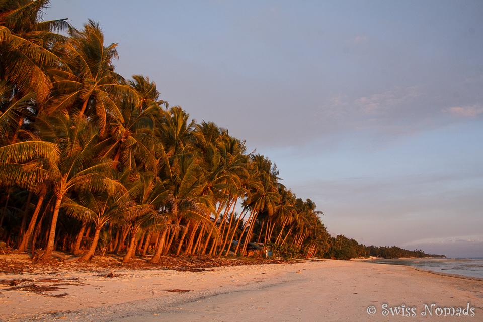 Abendstimmung Strand San Juan auf Siquijor