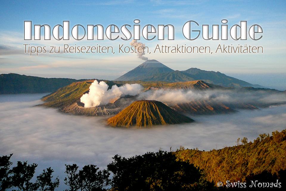 Indonesien Reisetipps und Informationen für deine nächste Reise