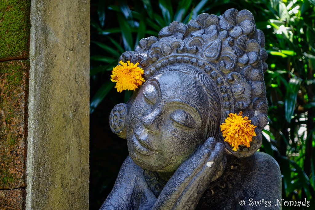 Gottheit Statue auf Bali