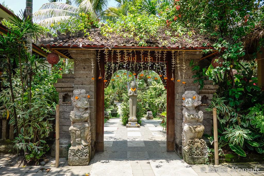 Eingang Ubud Inn