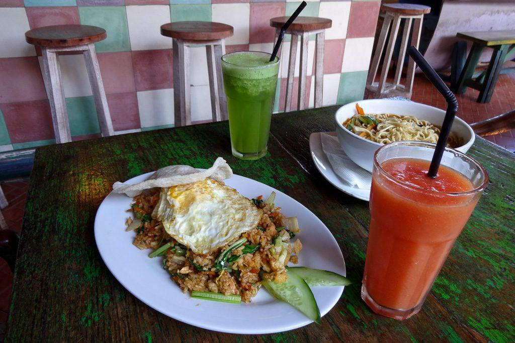 Nasi Goreng in unserem liebsten Restaurant in Sanur