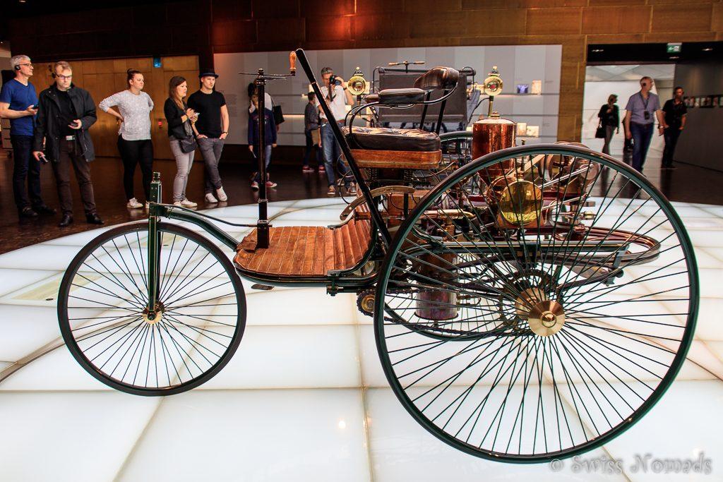Der Benz Patent-Motorwagen von Carl Benz